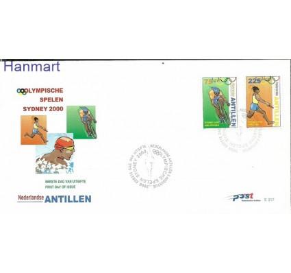 Znaczek Antyle Holenderskie 2000 Mi 1072-1073 FDC