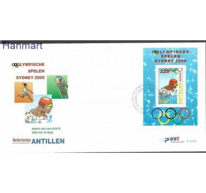 Znaczek Antyle Holenderskie 2000 Mi bl53 FDC