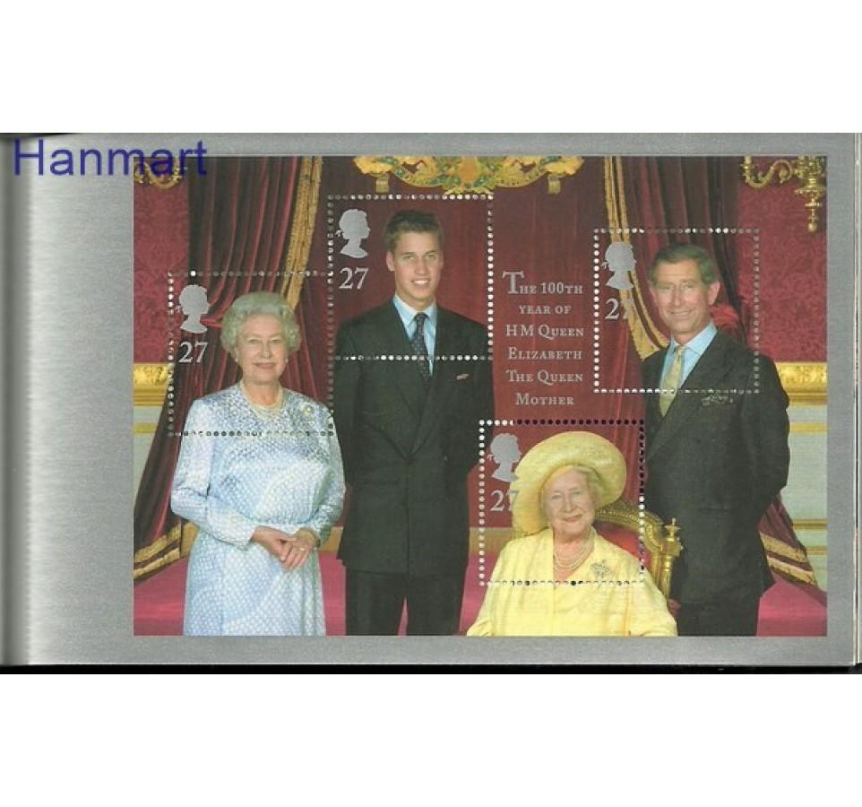Wielka Brytania 2000 Mi mh 137 Czyste **