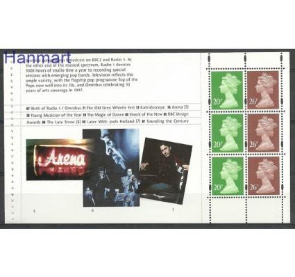 Wielka Brytania 1997 Mi h-blatt 201 Czyste **