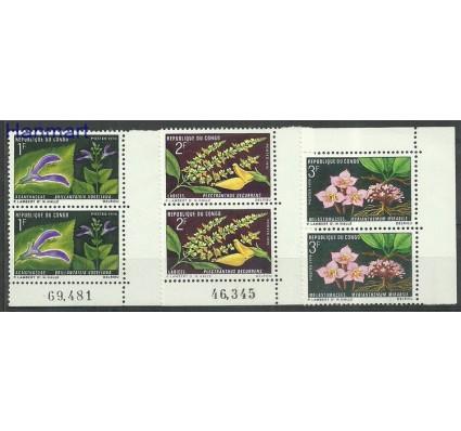 Kongo 1970 Mi par248-250 Czyste **