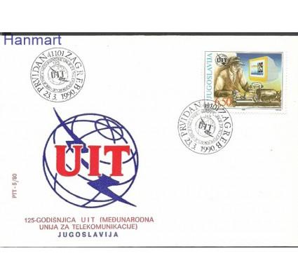 Jugosławia 1990 Mi 2411 FDC