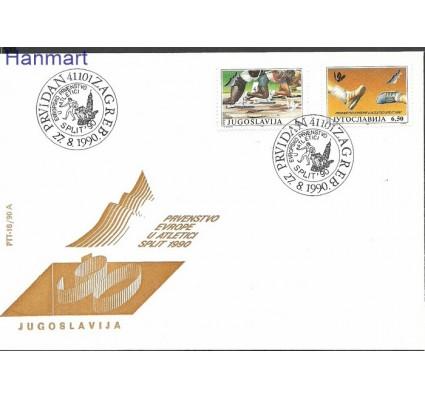 Jugosławia 1990 Mi 2434-2435 FDC