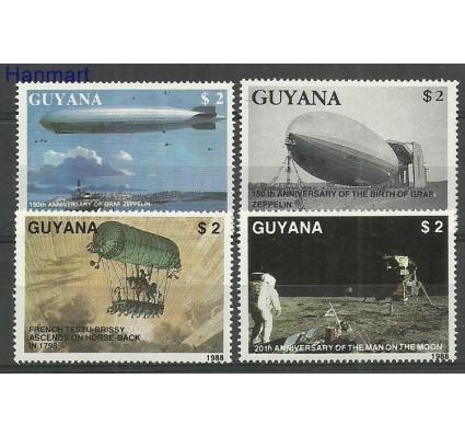 Znaczek Gujana 1989 Mi 2485-2488 Czyste **
