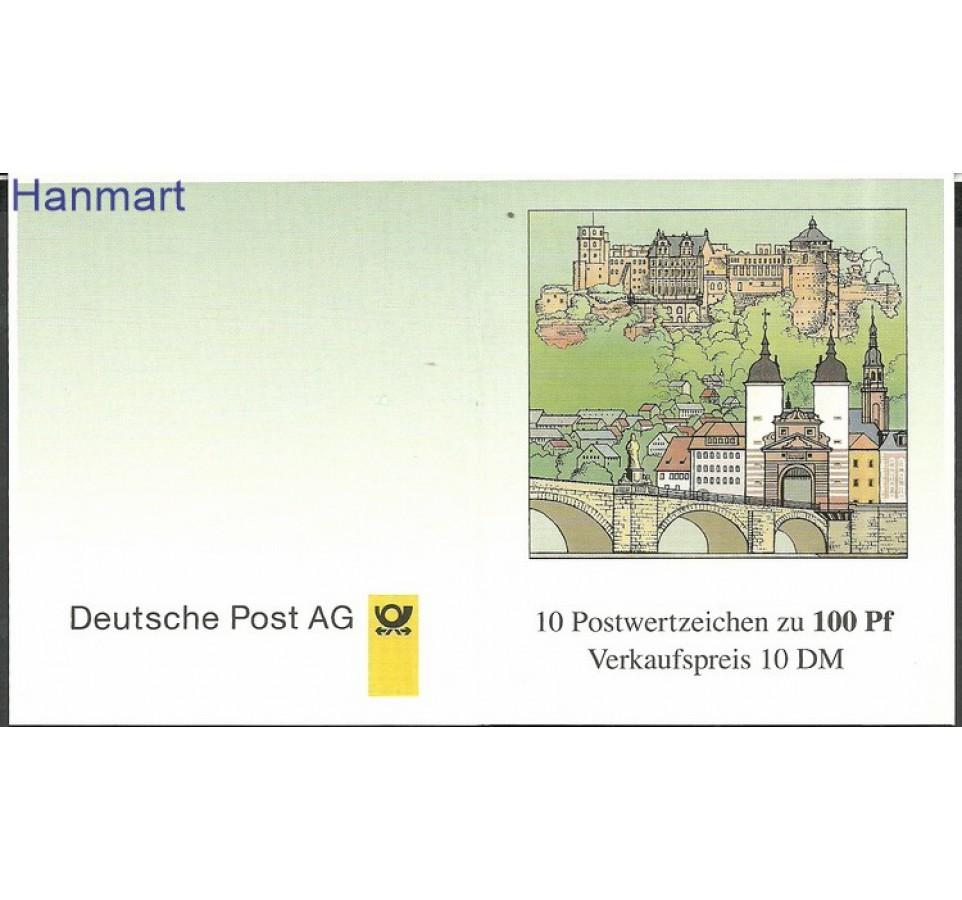 Niemcy 1996 Mi mh33 Czyste **