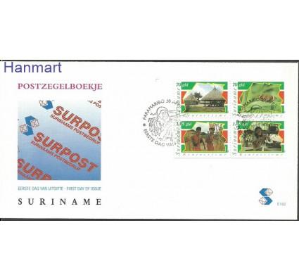 Znaczek Surinam 1996 Mi 1548-1551 FDC