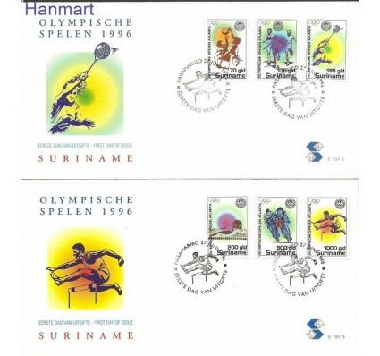Znaczek Surinam 1996 Mi 1554-1559 FDC