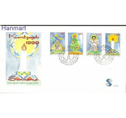 Surinam 1999 Mi 1711-1714 FDC