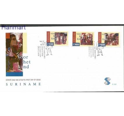 Znaczek Surinam 1999 Mi 1716-1718 FDC