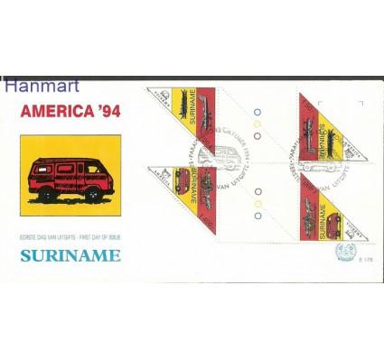 Surinam 1994 Mi gut1495-1496b FDC