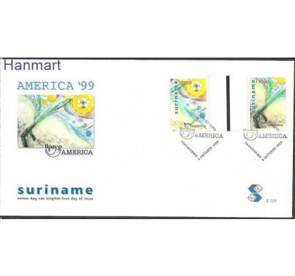 Znaczek Surinam 1999 Mi gut1707-1708 FDC