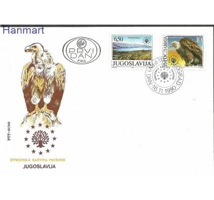 Znaczek Jugosławia 1990 Mi 2452-2453 FDC
