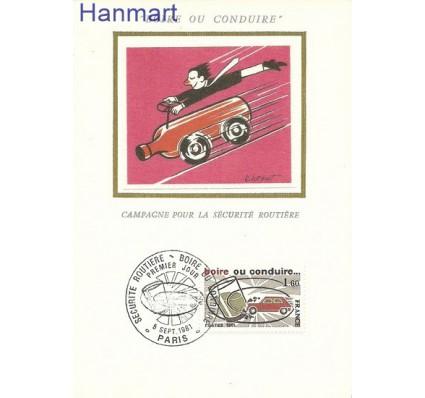 Znaczek Francja 1981 Mi 2278 Karta Max
