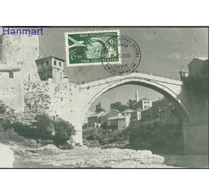 Znaczek Jugosławia 1951 Mi 653 Karta Max