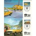 Jugosławia 1986 Mi 2146-2147 Karta Max