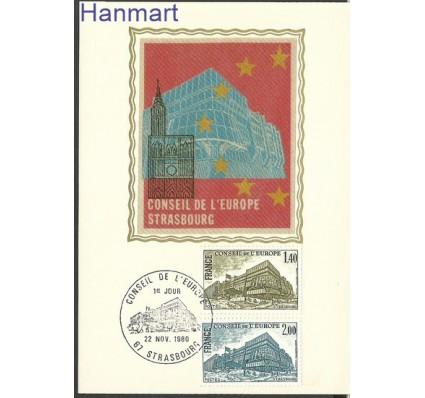 Znaczek Francja 1980 Mi die25-26 Karta Max