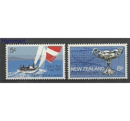 Znaczek Nowa Zelandia 1971 Mi 552-553 Czyste **