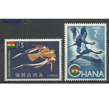 Znaczek Ghana 1959 Mi 61-62 Czyste **