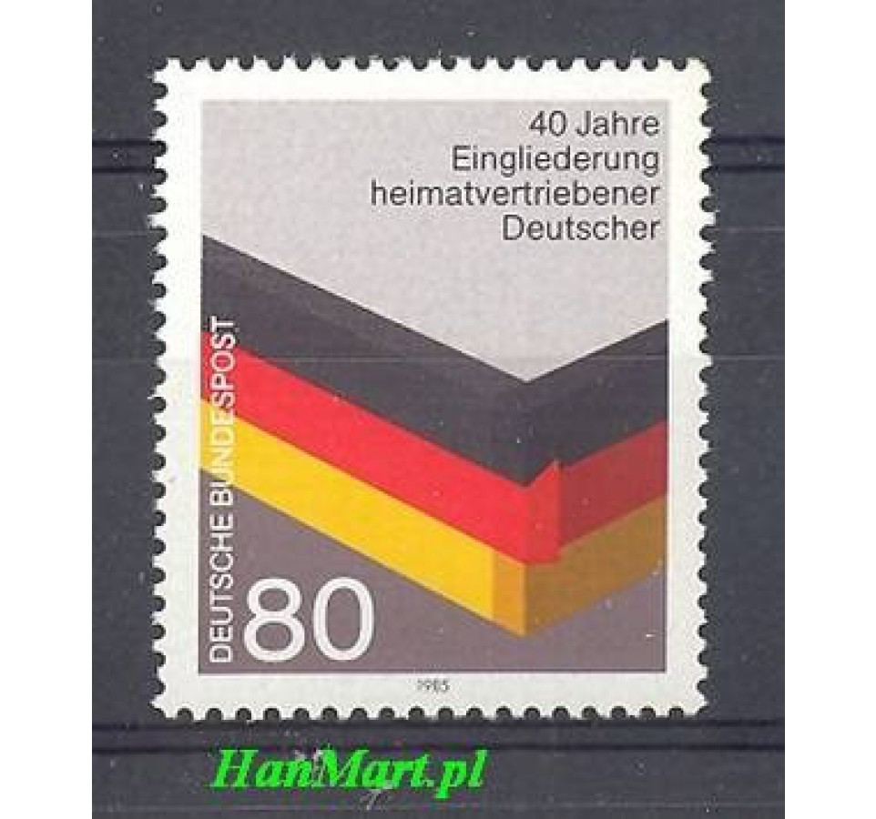 Niemcy 1985 Mi 1265 Czyste **
