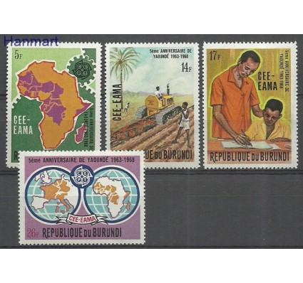 Znaczek Burundi 1969 Mi 480-483 Czyste **