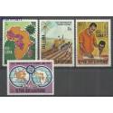 Burundi 1969 Mi 480-483 Czyste **