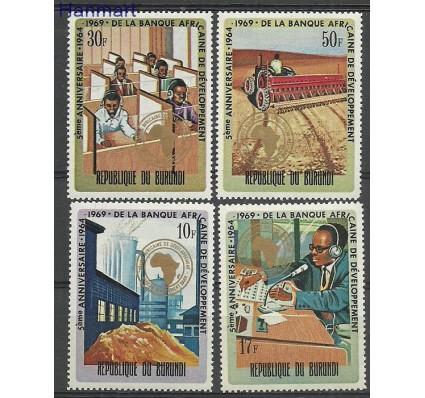 Znaczek Burundi 1969 Mi 502-505 Czyste **