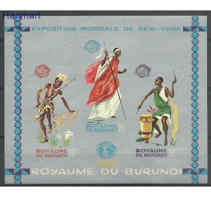 Znaczek Burundi 1965 Mi bl8B Czyste **