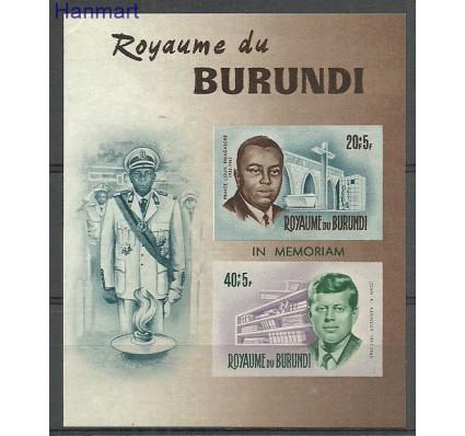Znaczek Burundi 1966 Mi bl10B Czyste **