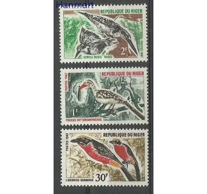 Znaczek Niger 1967 Mi 149-151 Czyste **
