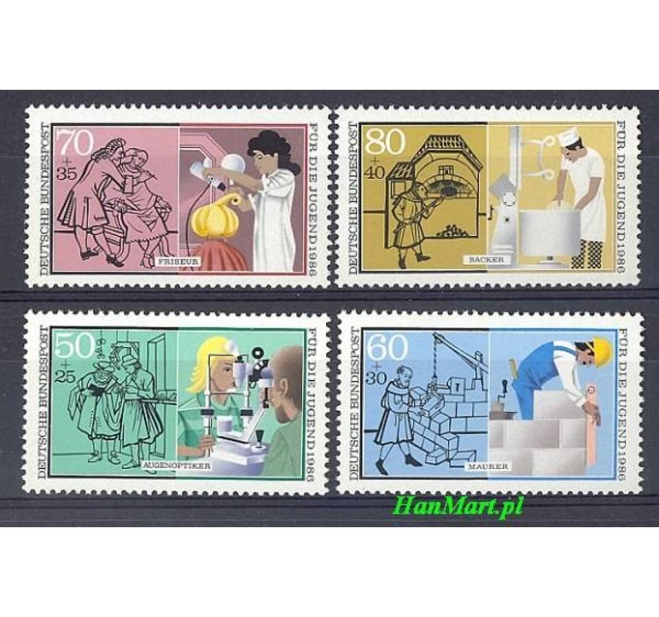 Niemcy 1986 Mi 1274-1277 Czyste **