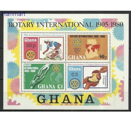 Znaczek Ghana 1980 Mi bl87 Czyste **