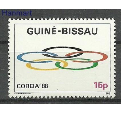 Znaczek Gwinea Bissau 1986 Mi 903 Czyste **