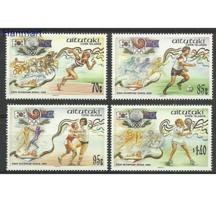 Znaczek Aitutaki 1988 Mi 632-635 Czyste **