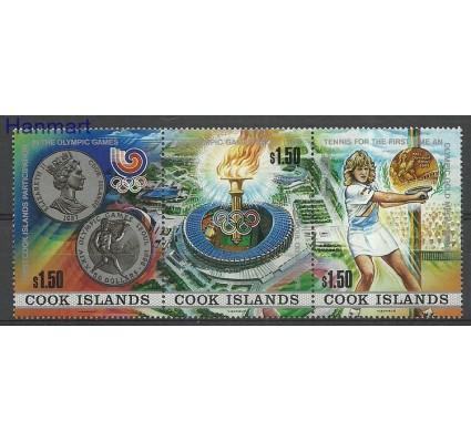 Znaczek Wyspy Cooka 1988 Mi 1256-1258 Czyste **