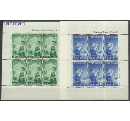 Znaczek Nowa Zelandia 1958 Mi ark374-375 Czyste **