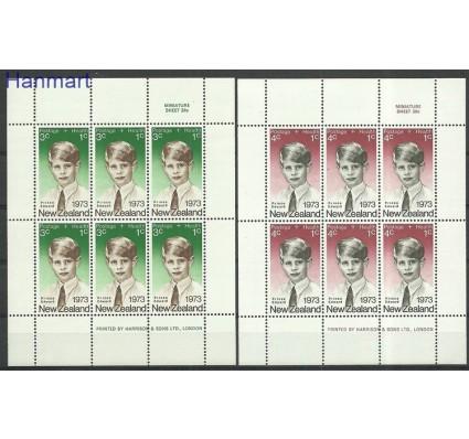 Znaczek Nowa Zelandia 1973 Mi ark611-612 Czyste **