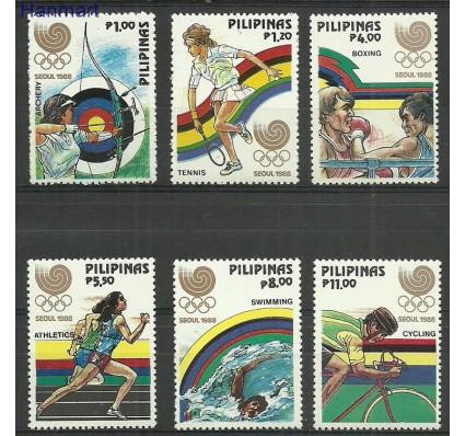 Znaczek Filipiny 1988 Mi 1884-1889 Czyste **