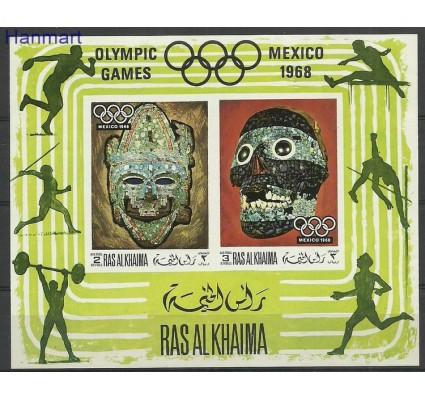 Znaczek Ras Al Khaima 1969 Mi bl76B Czyste **