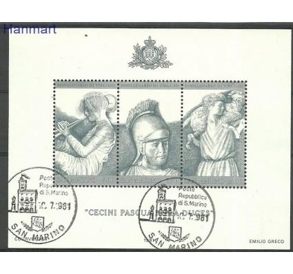 Znaczek San Marino 1981 Mi bl8 Stemplowane