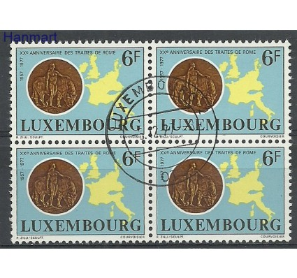 Znaczek Luksemburg 1977 Mi vie956 Stemplowane