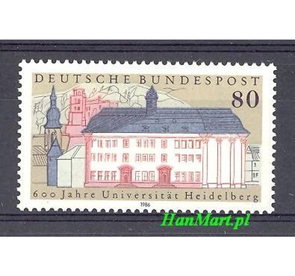 Niemcy 1986 Mi 1299 Czyste **