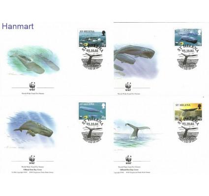 Znaczek Wyspa św. Heleny 2002 Mi 852-855 FDC