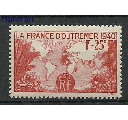 Znaczek Francja 1940 Mi 466 Z podlepką *