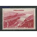Francja 1948 Mi 830 Z podlepką *