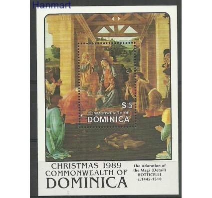 Znaczek Dominika 1989 Mi bl160 Czyste **