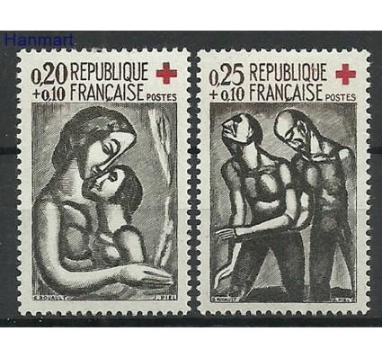 Znaczek Francja 1961 Mi 1376-1377 Z podlepką *