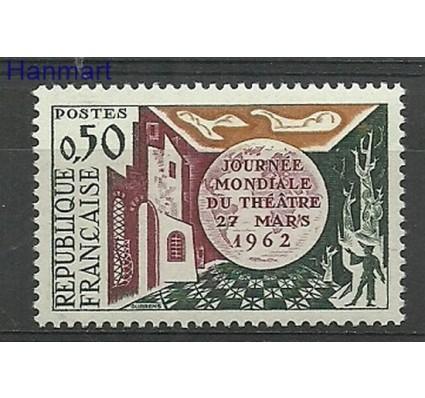 Znaczek Francja 1962 Mi 1387 Z podlepką *