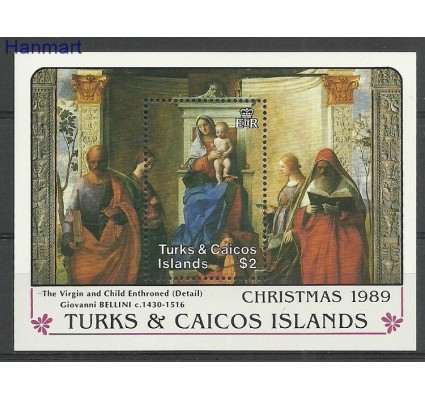 Znaczek Turks i Caicos 1989 Mi bl 79 Czyste **