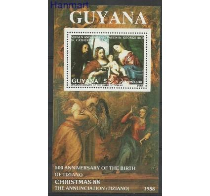 Znaczek Gujana 1988 Mi bl 27 Czyste **