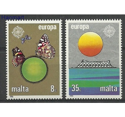 Znaczek Malta 1986 Mi 746-747 Czyste **